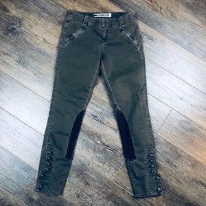 Daughters of the Liberation Olive Skinny Pants 26